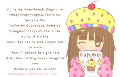 Strawberry Shortcake Cuppy Cake Song Lyrics