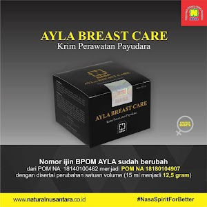 Pengencang Payudara Ayla Breast Care Nasa