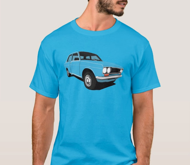 Blue Datsun Bluebird 1600 510 t-shirts