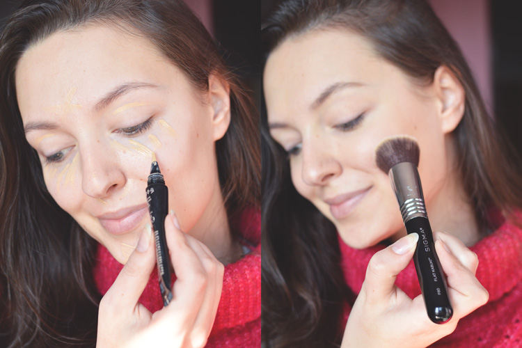 makijaż no make up krok po kroku