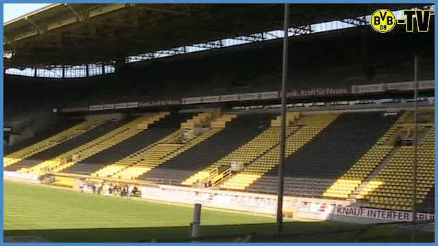 BVB TV im WESTFALENSTADION [HD] from Signal iduna park innen