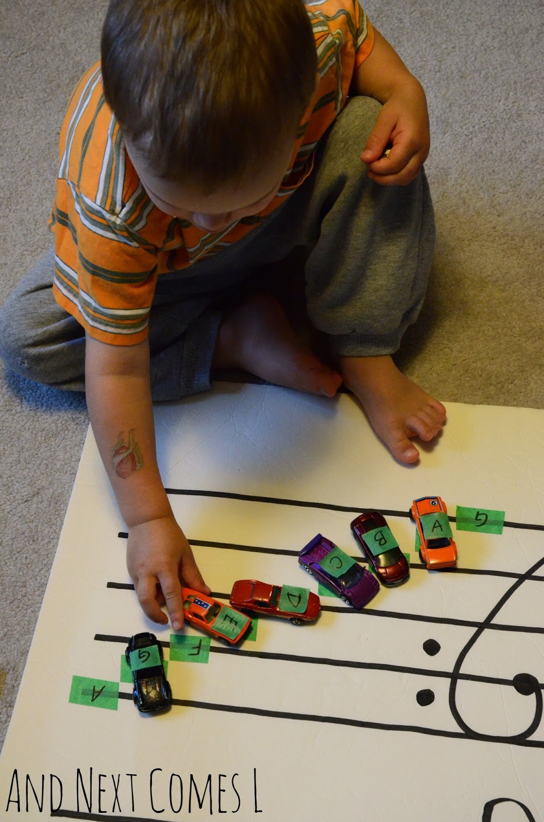Learning about music theory with cars from And Next Comes L