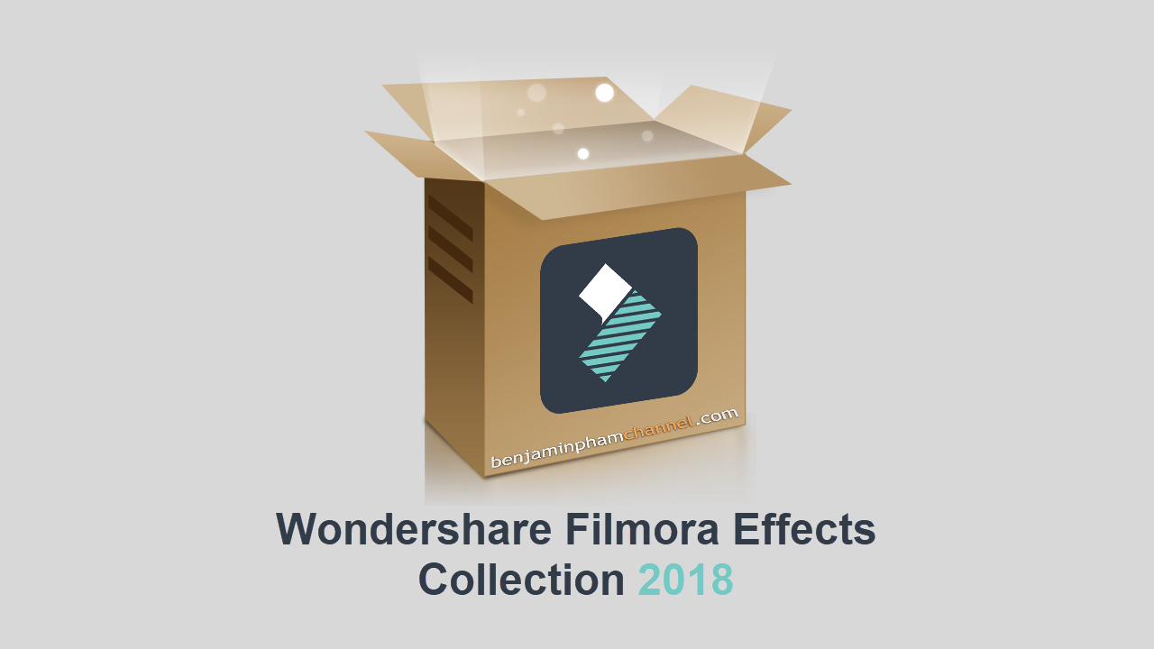 Wondershare Filmora Effects Collection 2018
