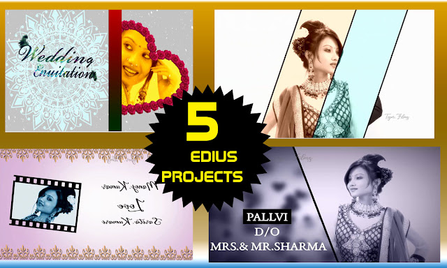 Edius 5 Bast Wedding Projects Title Projects 2020