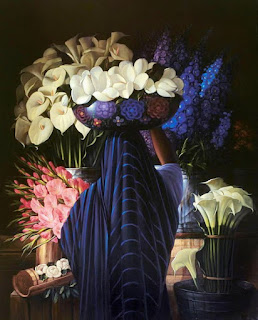 pinturas-oleo-vendedoras-frutas-flores