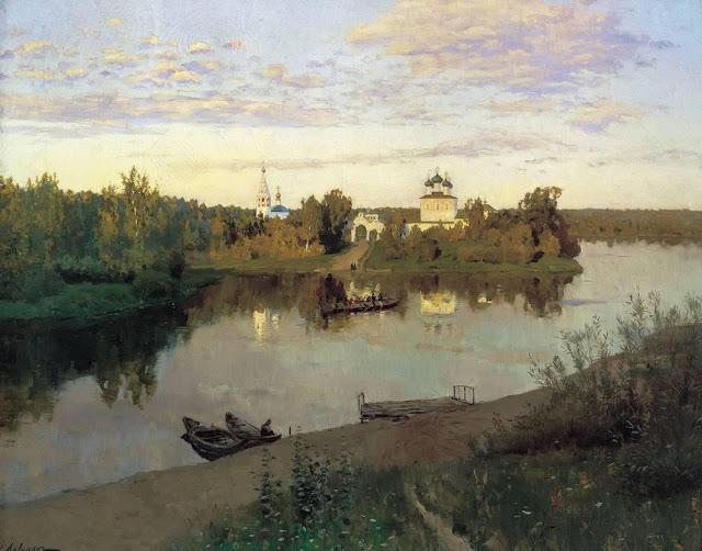 Исаак Ильич Левитан - Вечерний звон. 1892
