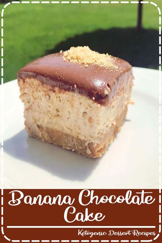 This Easy Chocolate Banana Cake with Cream Cheese Frosting is so good Banana Chocolate Cake