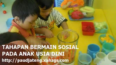 5 Tahapan Bermain Sosial Pada Anak Usia Dini (PAUD)
