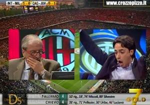 Inter - Milan 4-2 Tiziano Crudeli Direttastadio 7 Gold 06 ...