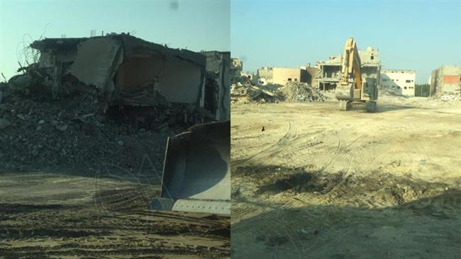 Saudi Arabia says Al-Musawara neighborhood totally destroyed