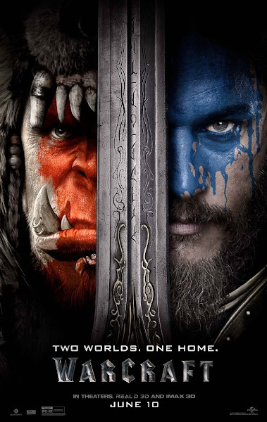 Poster Of Warcraft The Beginning 2016 720p Hindi BRRip Dual Audio Full Movie
