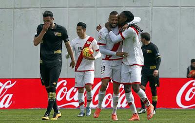 Crónica Rayo Vallecano 2 Vs Sevilla FC 2