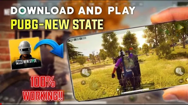 Download PUBG: NEW STATE Mobile Alpha APK and OBB 2021