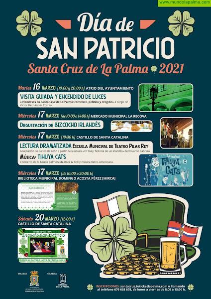 Santa Cruz de La Palma recuerda la historia de la colonia irlandesa con un programa de actividades