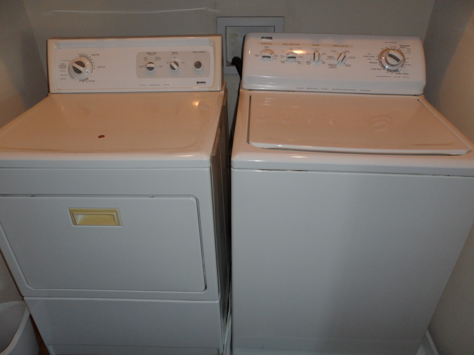 I M Not Taking It With Me Kenmore Washer Amp Dryer Sold