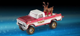 Hot Wheels Red line club Holiday Texas Drive 'Em Reindeer