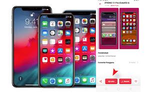 Tema Iphone 11 Pro Untuk HP OPPO A9 2020 Gratis