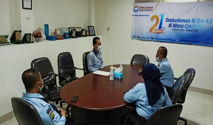 Menuju WBBM, Kepala Lapas Pembinaan Khusus Anak Tangerang Minta Dukungan Ombudsman Banten