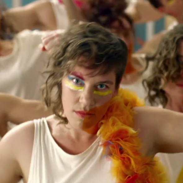 tUnE-yArDs, Music Television, music video, song title Bizness