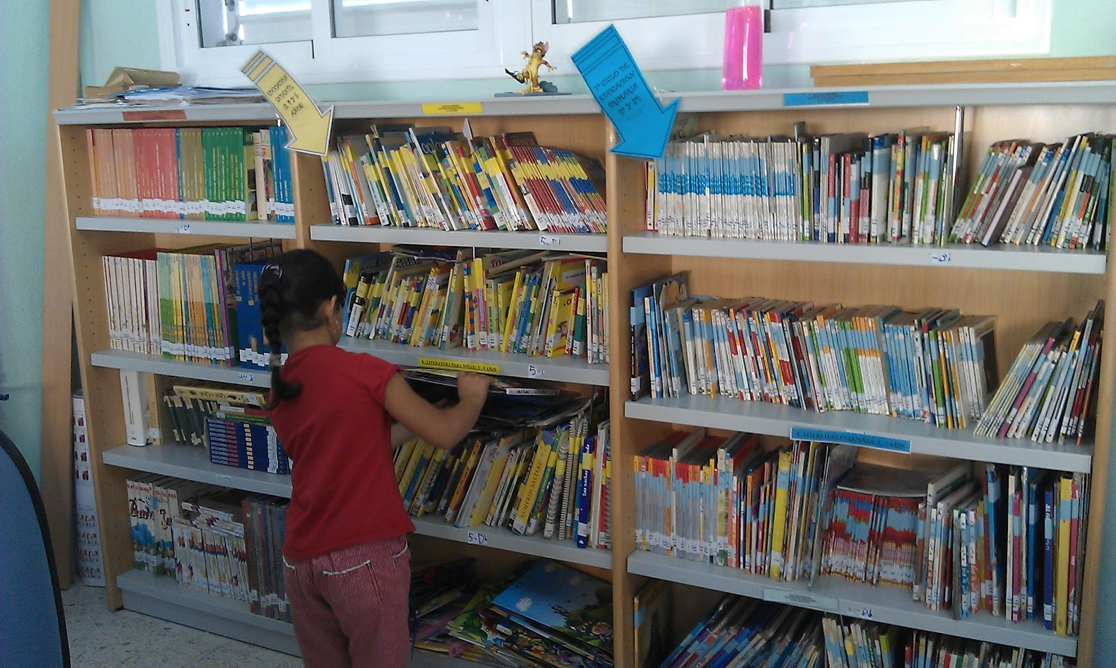 JUNTOS/AS ES MEJOR: La biblioteca un buen centro de recursos