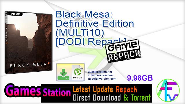Black Mesa Definitive Edition (MULTi10) – [DODI Repack]