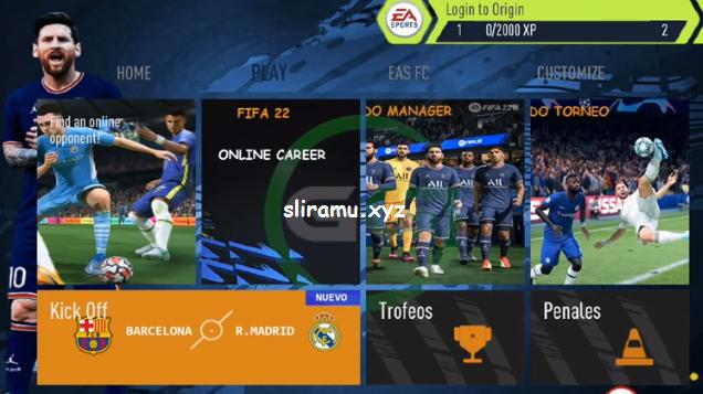 Fifa 14 Mod Fifa 22 (700 MB) Best Graphics HD New Update Kits & Transfer 2021-2022