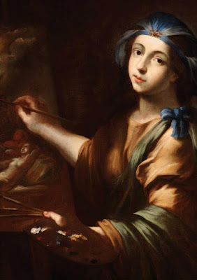 Allegory of painting, Genivra Cantofoli