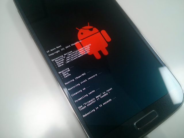 How To Root Samsung Androids using Odin and CF Auto Root File