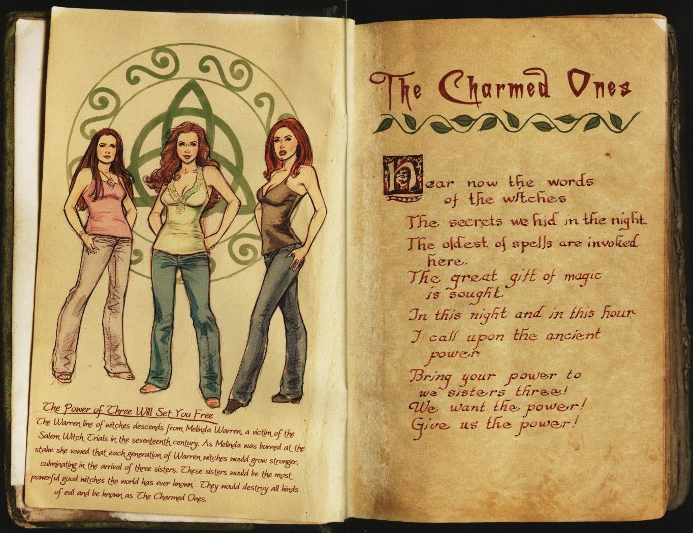 Hechiceras Temporada 9 En Comic: El Libro De Las Sombras
