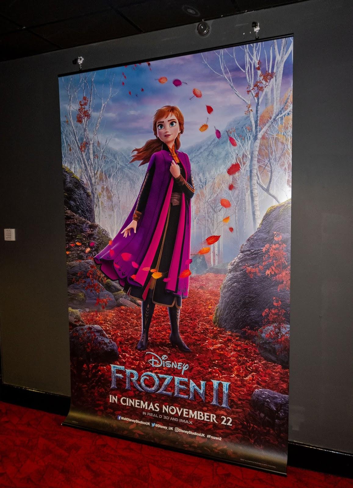 Princess Anna Frozen 2 poster at Empire Cinemas