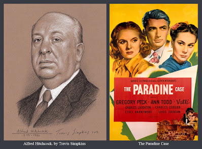 Alfred Hichcock. The Master of Suspense. Film Director. The Paradine Case. by Travis Simpkins