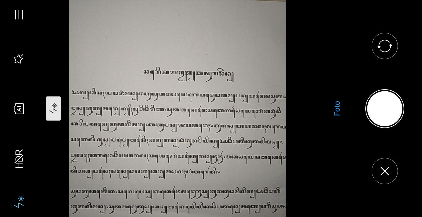 Translate Aksara Jawa Foto dengan Kamera Aplikasi ...