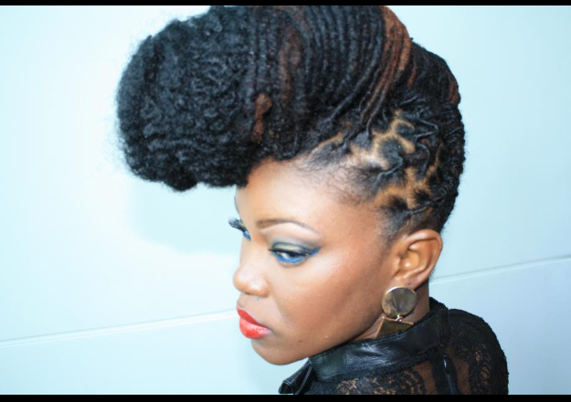 show some hair style naturally beautiful hair at the world hair show 5916