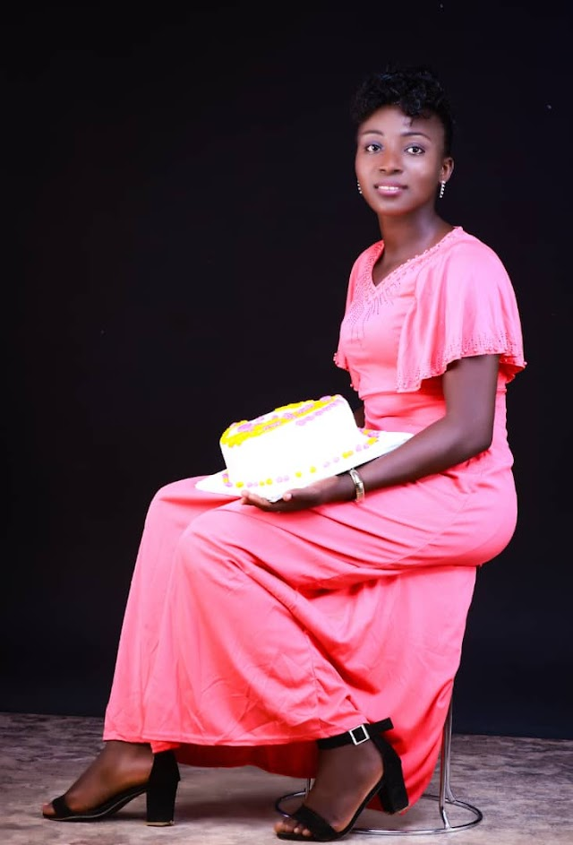 "HAPPY BIRTHDAY ""GRACE ARUWA""  - From Aruwaab9ja Media."