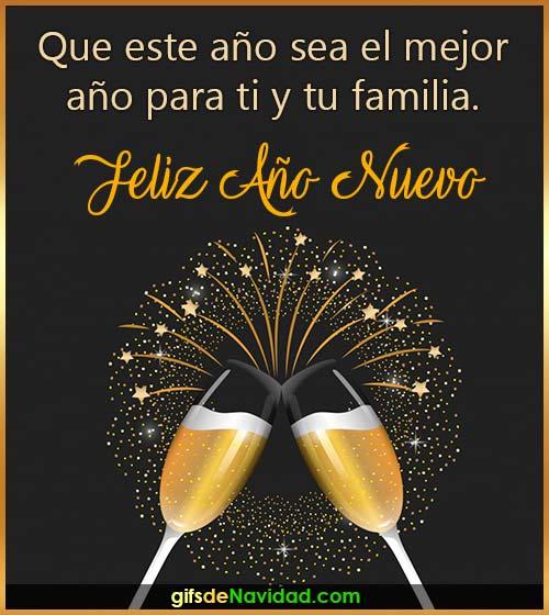 mensaje feliz año nuevo