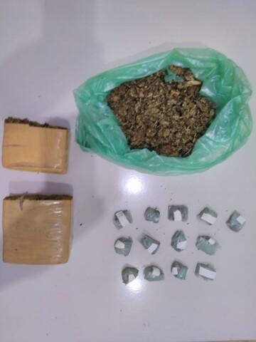 Casal é preso com drogas pela Polícia de São Francisco do Guaporé