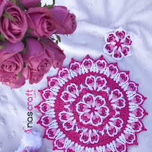 Hasna Flower Mandala (Crochet Pattern)