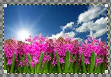 Crop gambar otomatis di GIMP
