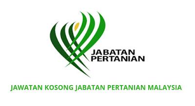 Jawatan Kosong Jabatan Pertanian 2019