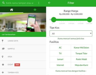 Mamikos, Memudahkan Pencarian Kost Hanya dengan Aplikasi Mobile