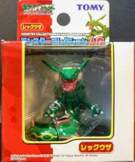 Rayquaza figure Tomy Monster Collection AG series