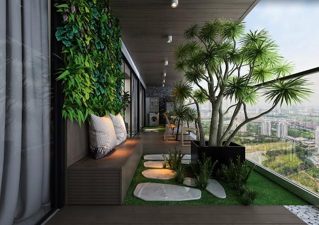 Căn hộ sở hữu sân vườn tại Sunshine Golden River
