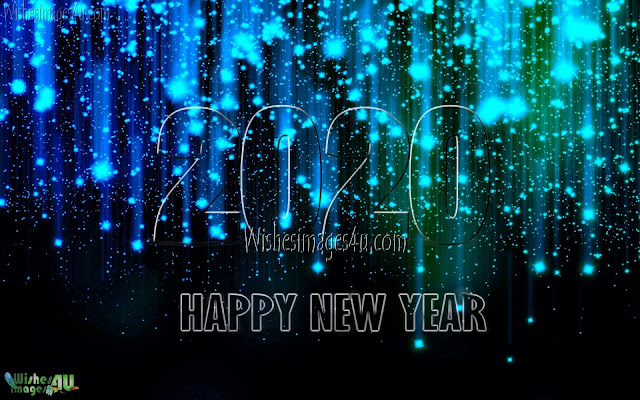Happy New Year 2020 720p Sparkling Desktop/PC Background Images