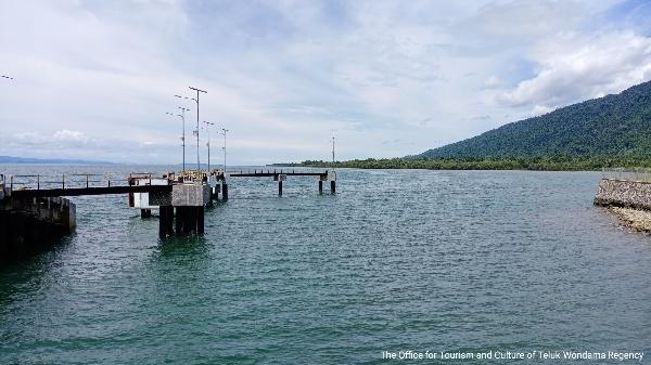 ferry harbor of Sewandamuni