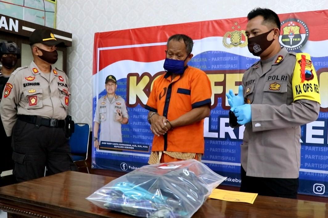 Buron 6 Tahun, Pelaku Pembunuhan Asal Petanahan ini Ditangkap Gara-gara Wabah Corona