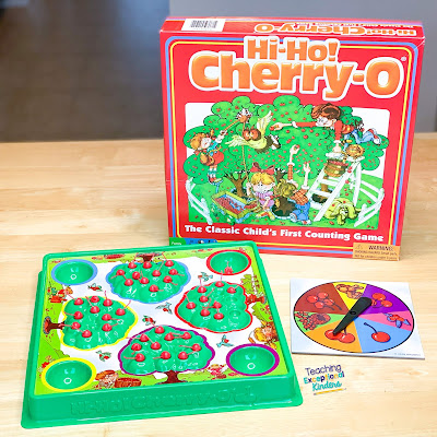 Hi Ho Cherrio Counting Game