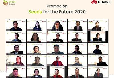 Se realiza la Graduación Seeds for the Future 2020