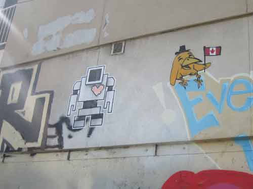 Lovebot Graffiti