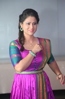 Shilpa Chakravarthy in Purple tight Ethnic Dress ~  Exclusive Celebrities Galleries 030.JPG