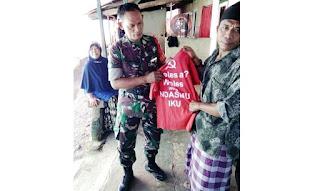 Kaos Palu Arit Beredar di Lombok? Kok Bisa...